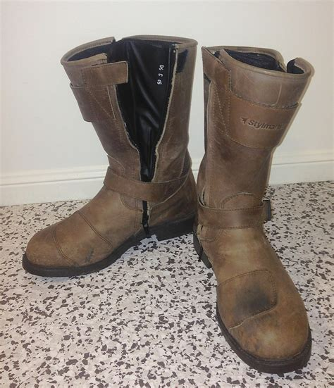 cruiser style motorcycle boots stylmartin legend rs boots review motorbike writer