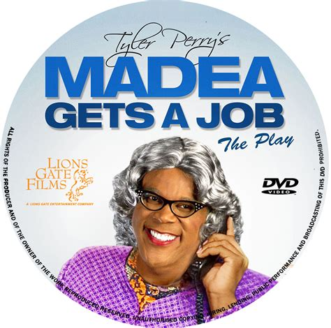 Gets An Cover by Covers Box Sk Perrys Madea Gets A The Play