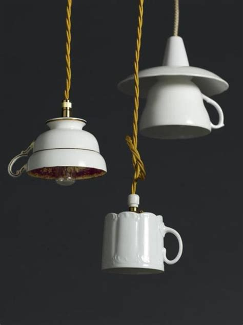 Cup Light by Recycling Tea Cups And Tea Pots For Creative Home Decorating Ideas