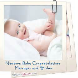 baby wishes and congratulation messages