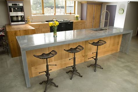 kitchen island worktops uk get the look a concrete worktop for a modern kitchen