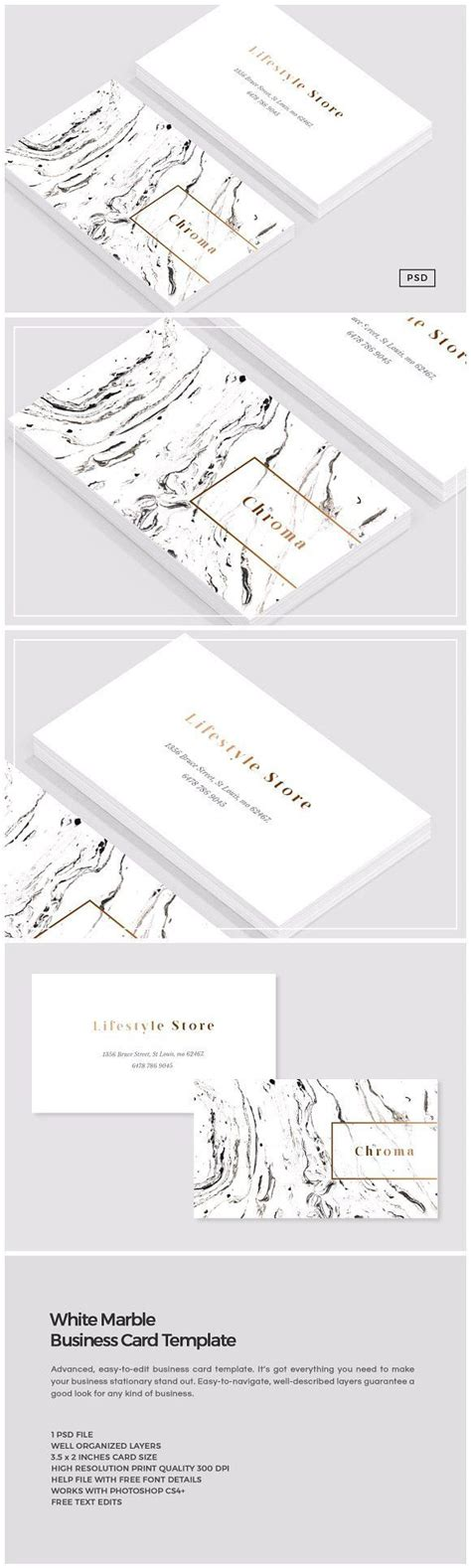 free printable busines card template european mounts white marble copper business card visitenkarten