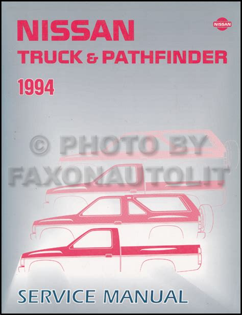 car repair manuals download 1992 nissan pathfinder electronic toll collection 1994 nissan pickup truck and pathfinder repair shop manual original