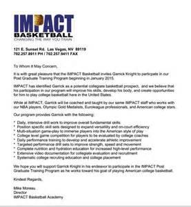 Invitation Letter Sle For Basketball Tournament Support Garrick Going To Las Vegas For Basketball By Garrick