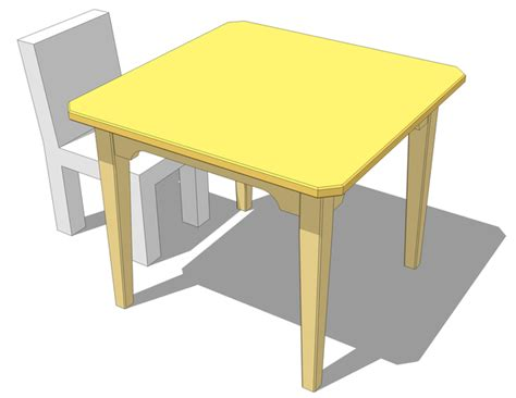 Kid Table by Kid S Table Plans