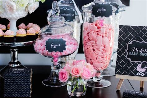Baby Shower Ideas 2015 by Sweet Pink Baby Shower With Chalkboard Decor Via Kara S