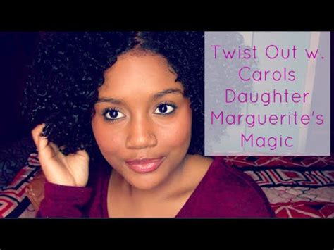 short natural hair carols daughter defined twist out on natural curly hair with carol s