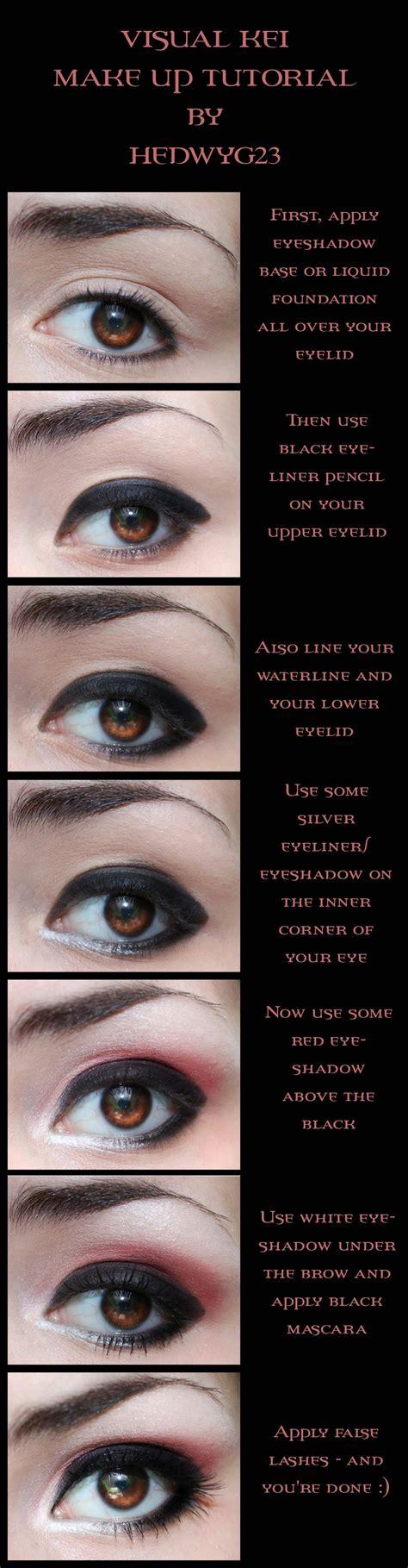 Tutorial Makeup Visual Kei | visual kei thathelpfulperson
