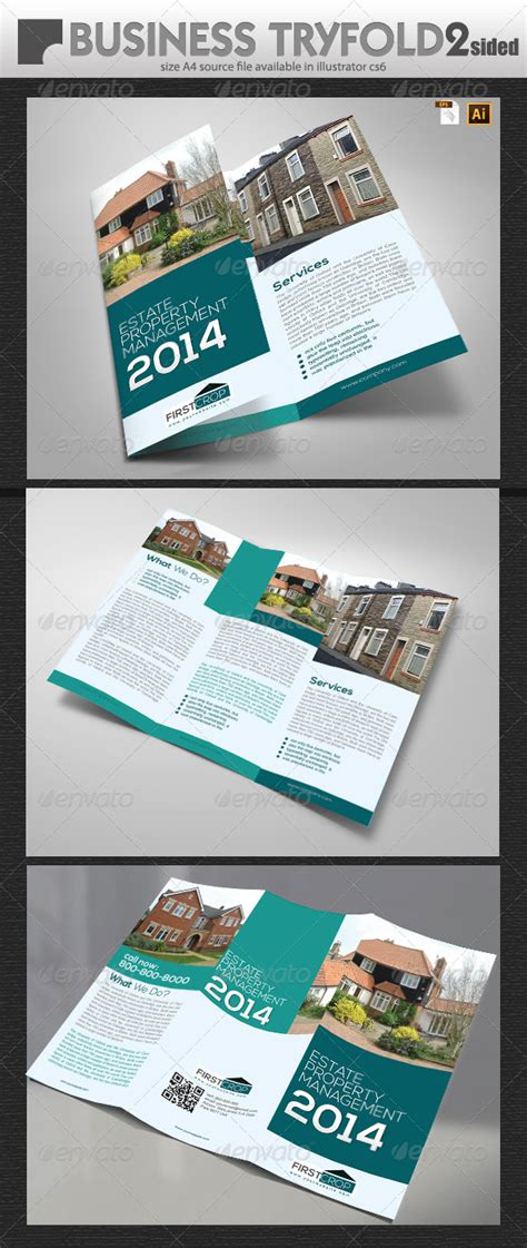 uk property management trifold graphicriver