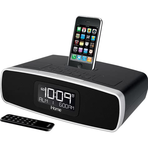 i home ihome ip90 dual alarm clock radio for iphone ipod