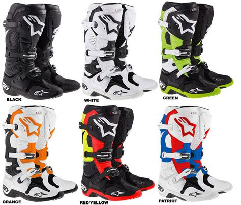 Sepatu Cross Alpinestar Tech 10 motocross boots buyers guide product spotlight