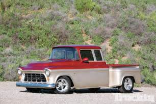 56 chevy extended cab bowtie