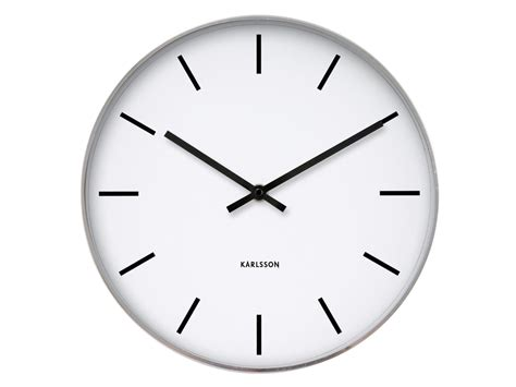 horloge blanche horloge et blanche en m 233 tal kollori