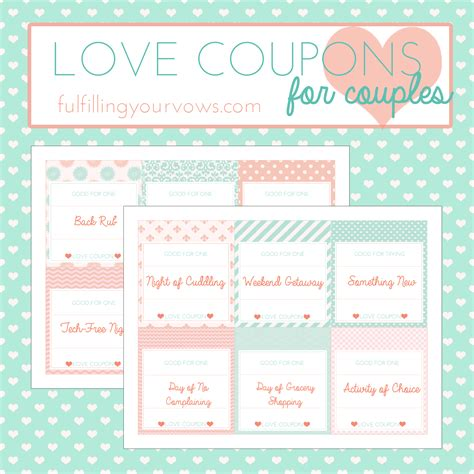 printable love coupons pdf free printable love coupons for couples fulfilling your vows