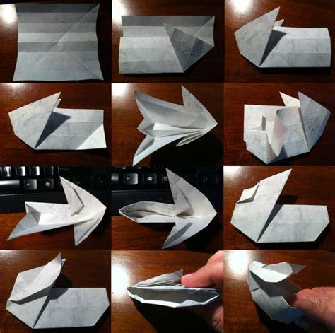 Origami Bunny Box - setting the crease page 50 paper based procrastination