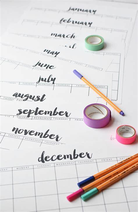 design calendar simple free printable calendar free printable calendar