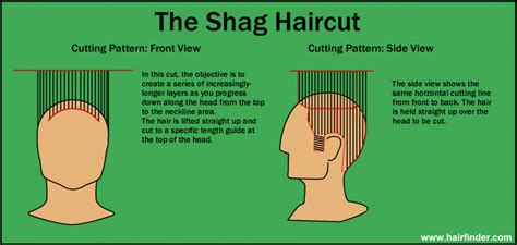 haircut diagrams how to shag haircut diagram hairstyles ideas
