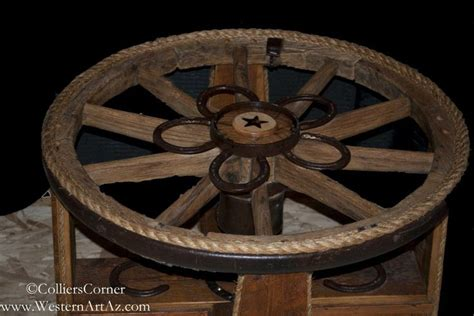 wagon wheel table wagon wheel furniture