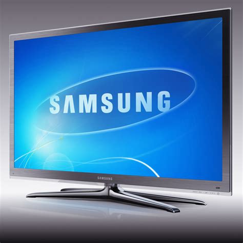 Led Samsung Tv tv samsung led ue55c8000 3d model