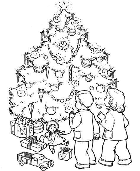 printable coloring pages of christmas tree christmas tree coloring pages for adults 2018 dr odd