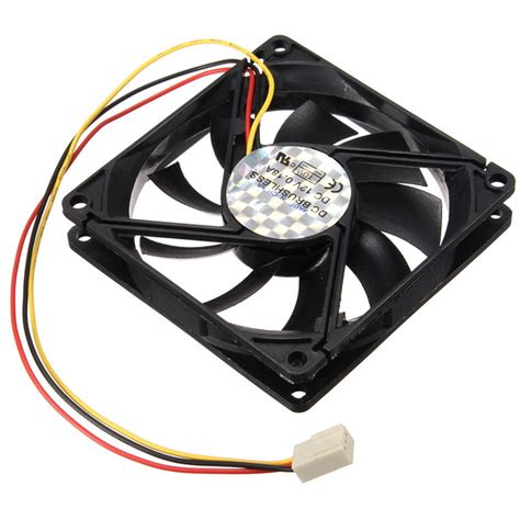 computer fan wiring 3 pin 80mm 15mm pc cpu fan heatsink cooler
