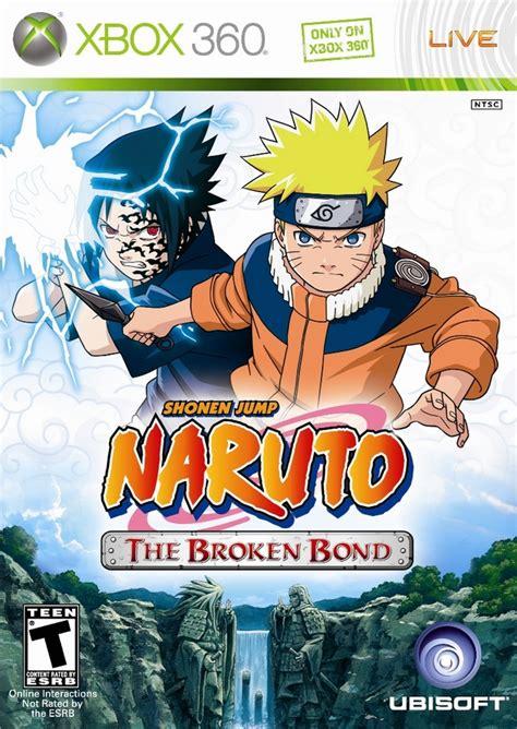 imagenes anime xbox 360 naruto broken bond xbox 360 game