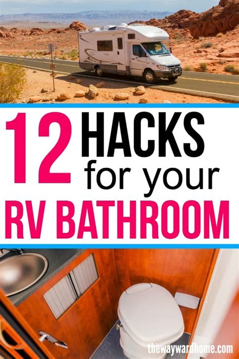 rv bathroom storage ideas  stay clutter