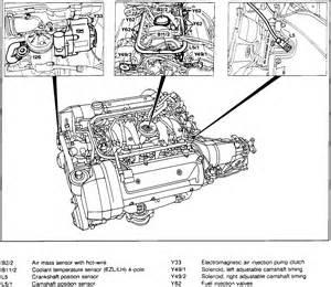 mercedes 400se crankshaft position sensor pully fan belt