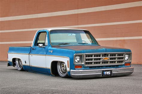 And C10 chevy c10 with a 408 ci lsx engine depot