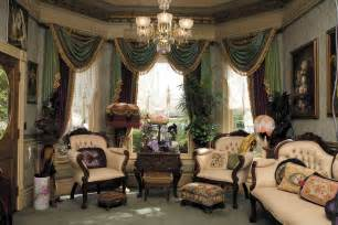 Victorian Home Decor Ideas by Victorian Wallpaper Sitting Room Traditional