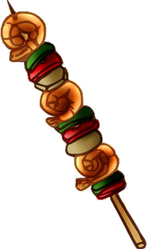 kebab clipart clipart shish kabob pencil and in color