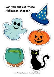 Halloween worksheets halloween scissor activities printables cutting