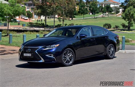 lexus luxury 2016 lexus es 350 sports luxury review video