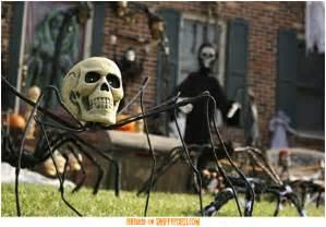 Outdoor Homemade Halloween Decorations