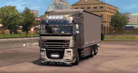 Truck Cabins by Daf Xf 105 Wielton Trailer Cabin Dlc Truck Truck