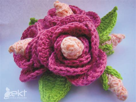 Flower Pattern Of Crochet | crochet flower pattern knitting gallery
