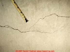 cracks in concrete basement floor how to identify evaluate repair shrinkage cracks in