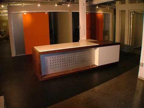 Custom Made Reception Desks Custom Made Reception Desk By Woodworks Inc Custommade