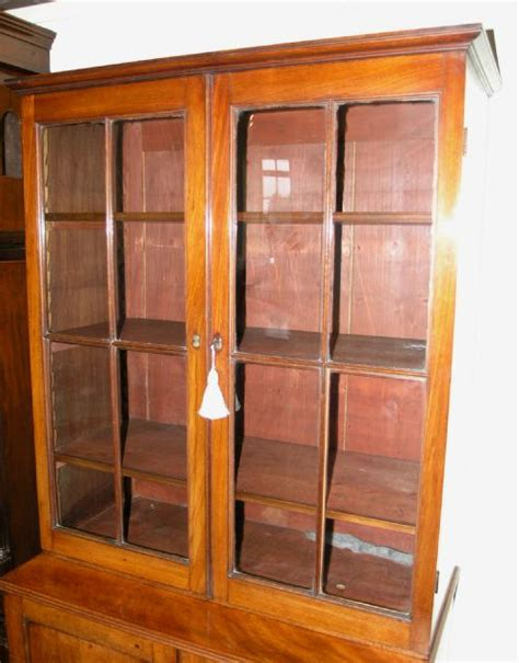 32 Wide Bookcase small 32 quot wide georgian mahogany bookcase 178284 sellingantiques co uk