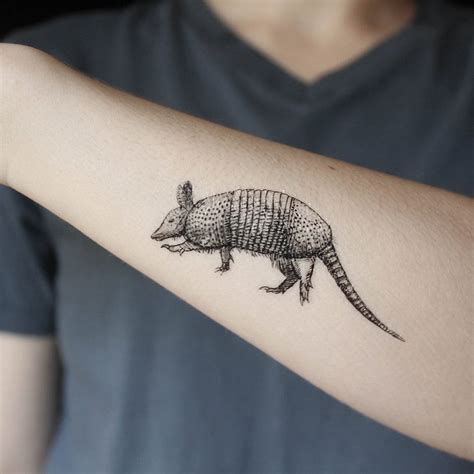 natural tattoo ink armadillo temporary black ink animal