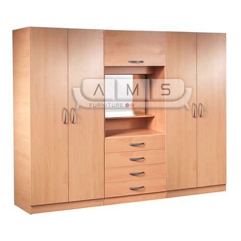 Wardrobe At by Brand New 4 Door Fitment Wardrobe With Mirror Shelves