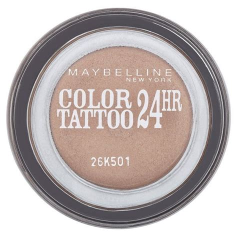 tattoo cream superdrug maybelline color tattoo 24hr eyeshadow 35 on and on bronze