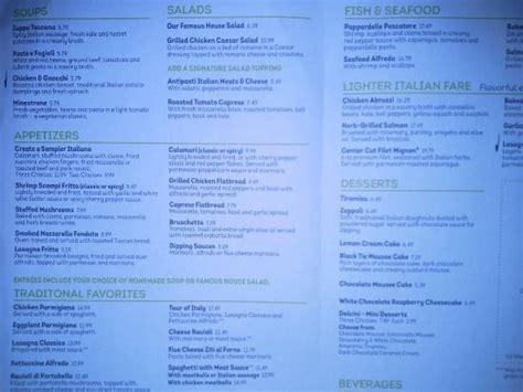 menu to go en www ogtogo picture of olive garden