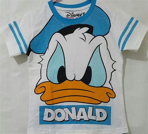 Kaos Ordinal Donald Duck 07 kaos donald duck putih 1 6 grosir eceran baju anak murah berkualitas