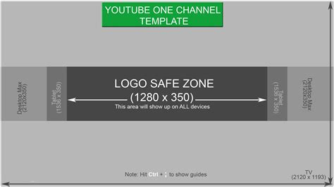 Getting Started With The New Youtube One Channel Design Channel Template