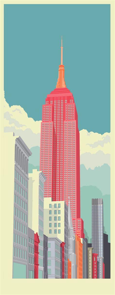 New Illustrations by New York City Illustrations By Remko Heemskerk