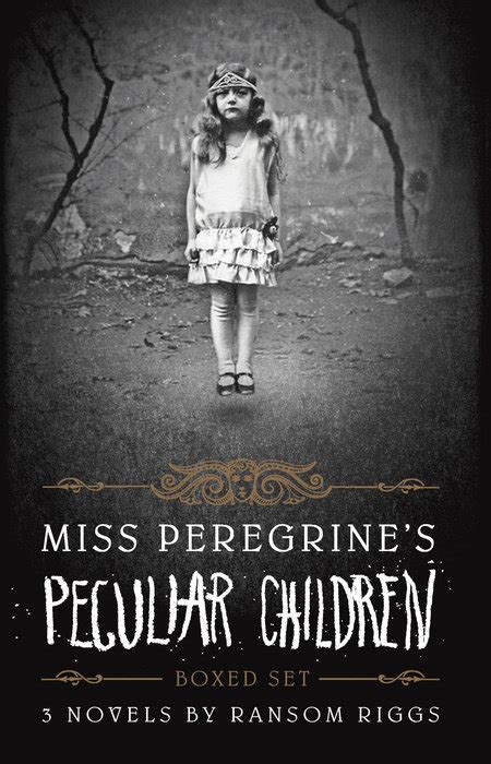 miss peregrine s peculiar children boxed set quirk books