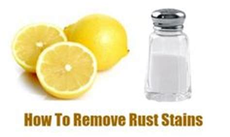 how to remove rust stain from bathtub remove rust stains on pinterest clean porcelain sink