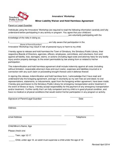 release and hold harmless agreement template hold harmless agreement 5 free templates in pdf word