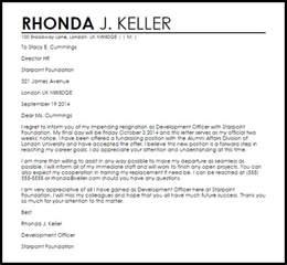 Appreciative Resignation Letter Resignation Letters